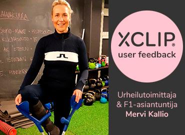 Mervi Kallio: En edes osaisi kuvitella, miten olisin tullut toimeen ilman XCLIP-kyynärsauvapidikettä