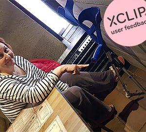 XCLIP tukee aktiivista elämää ja liikkumista.